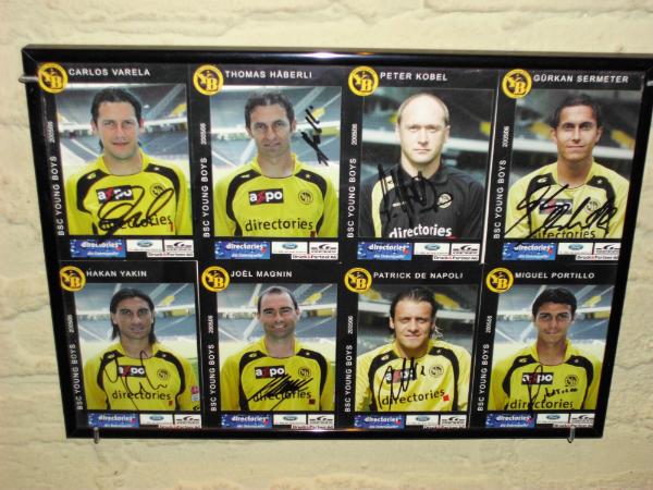 Autogrammkarten 2005 (signiert)